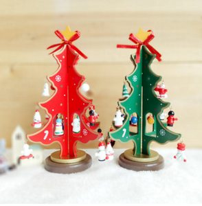 Hot Selling merry christmas color gift christmas tree gift box template