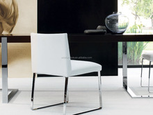 upholstered soft leatherette leather italian design Diana Dining chair