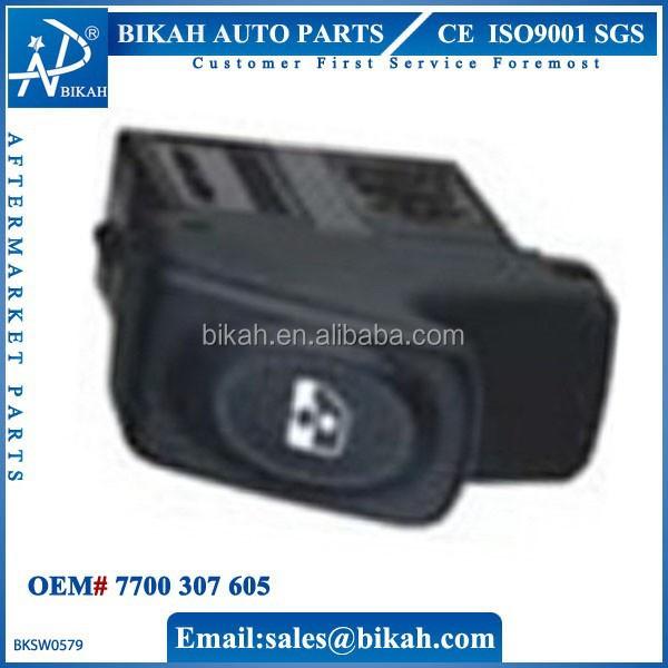 Oem# 77 00 307 605 For Renault Power Window Switch