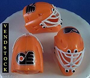 Buy Philadelphia Flyers Nhl Hockey Mini Goalie Masks Cake Toppers