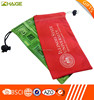 Customized made new design waterproof microfiber cell phone pouch