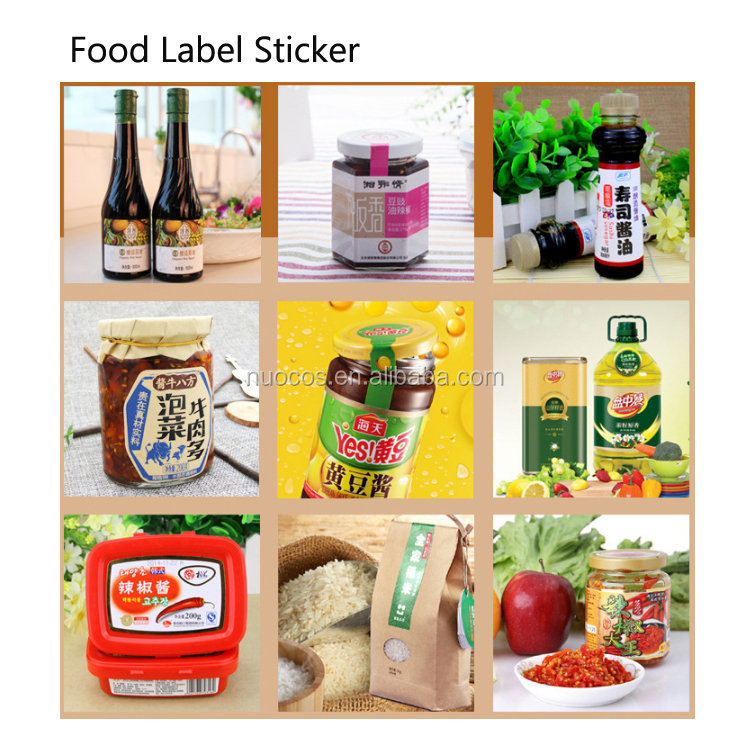 Custom Cosmetic Food Packaging Scratch And Sniff Stickers