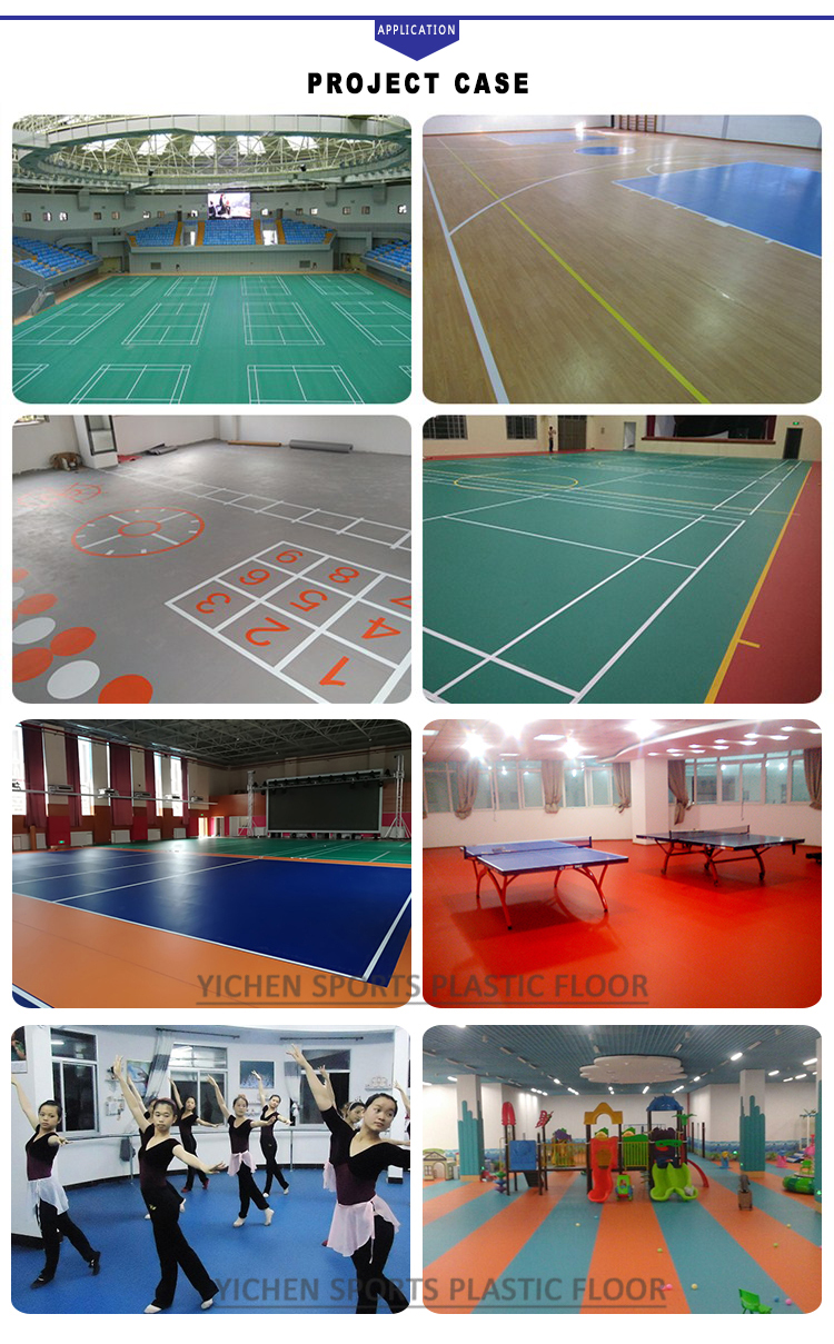 Индия ПВХ Бадминтон Спорт Полы Малайзия