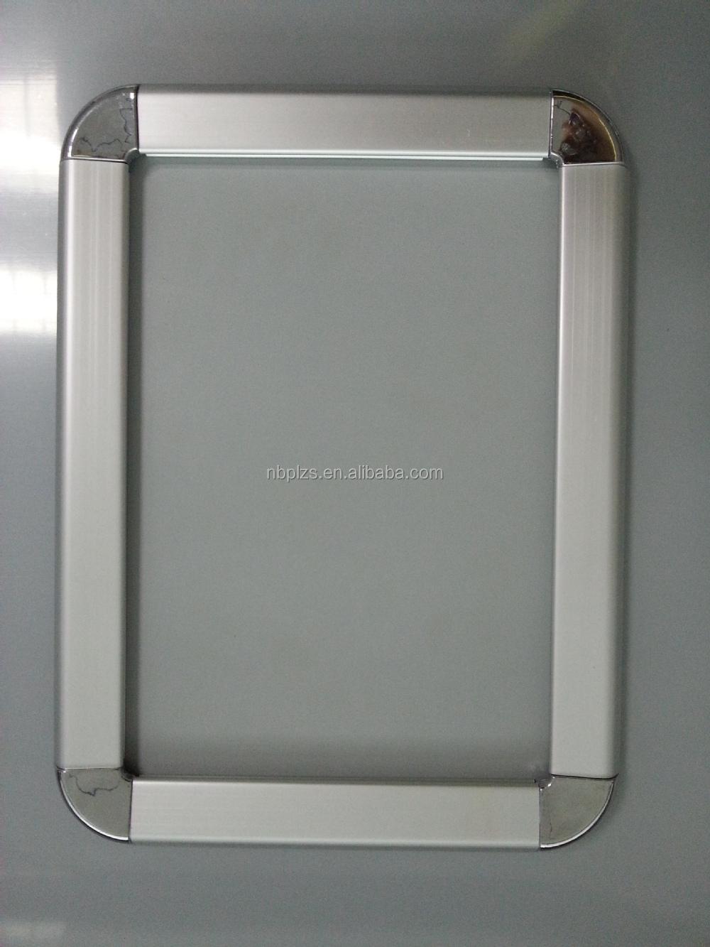 High Quality Aluminum Profile Snap Frames Round Corner Poster Frames ...
