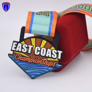 East Coast Custom Cheap New Designed Swimming Sports Award catholic pendant medal with zinc alloy metal medals