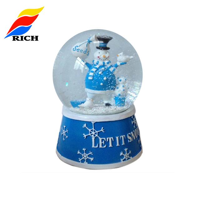 Customized   empty snow globe made souvenir