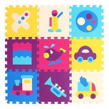 MQIAOHAM детский игровой коврик-пазл, коврики, коврики, Детские пазлы, пазлы из ЭВА, мягкие игрушки для детей, коврик для ползания(Китай)