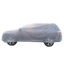 Outside Plastic full body car cover vinyl protect from snow.water.sun