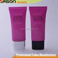 Colored Cosmetic Container Plastic Sunscreen Packaging Tubes
