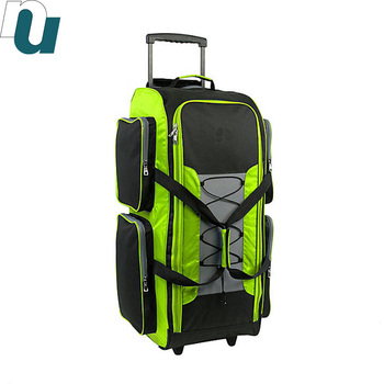 8a0ce1d0be Timber Lightweight Travel Luggage Rolling Duffel Duffle Land Wheel ...