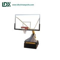 Manual Hydraulic Baskeball Backstop used basketball hoops for sale