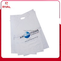 customized durable plastic gift bags