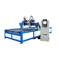 High cutting precision cnc plasma cutting machine