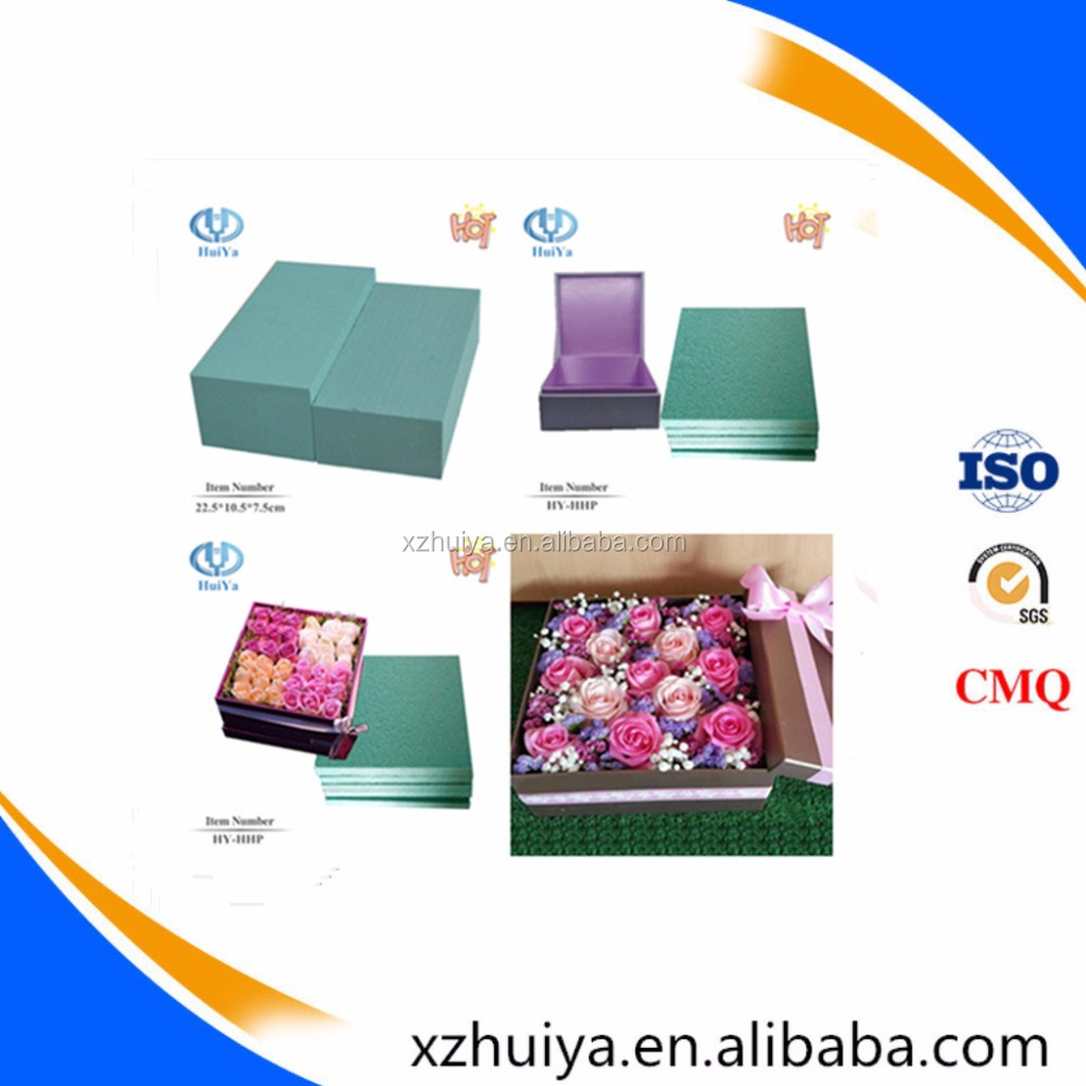 Hebei Huiya Fresh Floral Foam for Holioday Decoration and Christmas Decoration