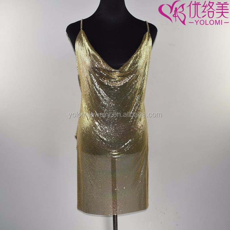 Luxury Full Body Kette Partei Kleid Harness Körper Schmuck Gold ...