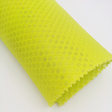 100% polyester knitting 3D sandwich spacer bird eye big hole mesh fabric for shoes,with sgs