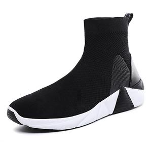 Latest designs Upper fly knit materials male luxury designer casual custom Unisex sock shoes sneakers  running shoe men women