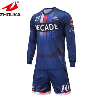 dc04a738f Wholesale top quality men custom football teams soccer t-shirts sets kids  uniformes shirt de