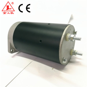 12V Electrical Brush DC Hydraulic Pump Motor