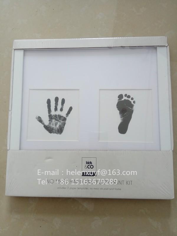 Baby Bilderrahmen/baby Handabdruck Und Fußabdruck Bilderrahmen ...