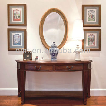Antique Design Chinese Console Table With Mirror(EMT G01)