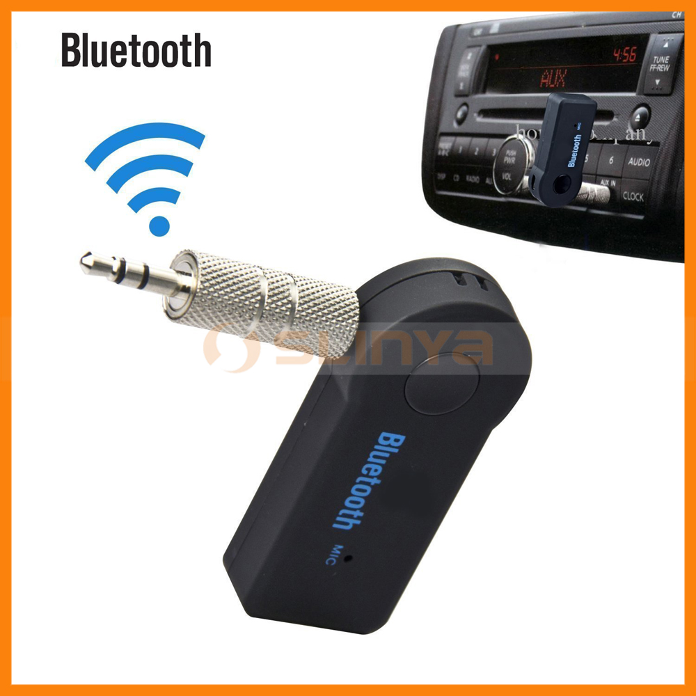 Mini Wireless 3.5 mm FM Transmitter Bluetooth 3.0 Music Audio Adapter Receiver