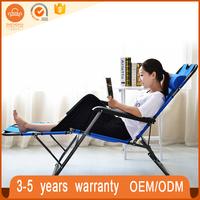 Waterproof fabric premium folding zero gravity reclining beach folding sun lounge chair