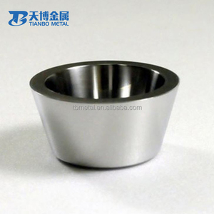 wholesale tungsten melting pot crucible for smelting of rare earth metals