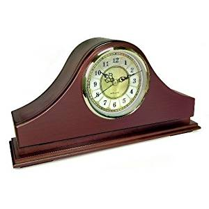 Zone Shield Wi-Fi Mantel Clock Live View Hidden Surveillance Camera - C1570WF Wi-Fi solution built into an ordinary mantel clock, just plug it in and let the camera do the work.