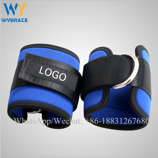 Wholesale exercise training equipments adjustable ankle weights for women
