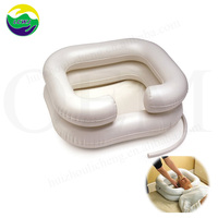LC inflatable shampoo basin for disabled, adults and children