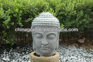 Hot sale natural stone Chinese antique buddha head for sale