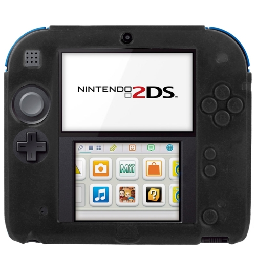 New Arrival Pure Color Ultra Thin Silicone Case for Nintendo 2DS