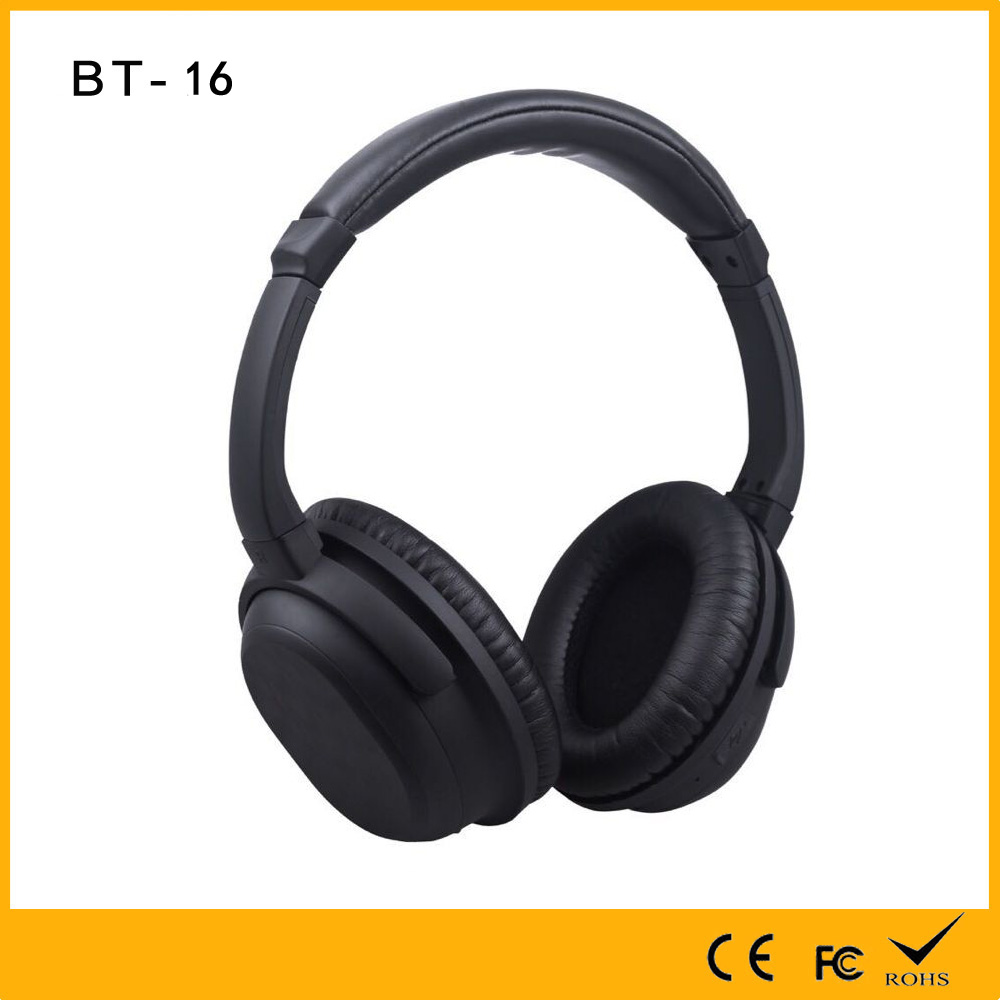 High Grade NFC BT16 CSR V4.1 Professional 80 percent Noise Cancelling DJ Dancer Pure Stereo Wireless Bluetooth Sport Headphones