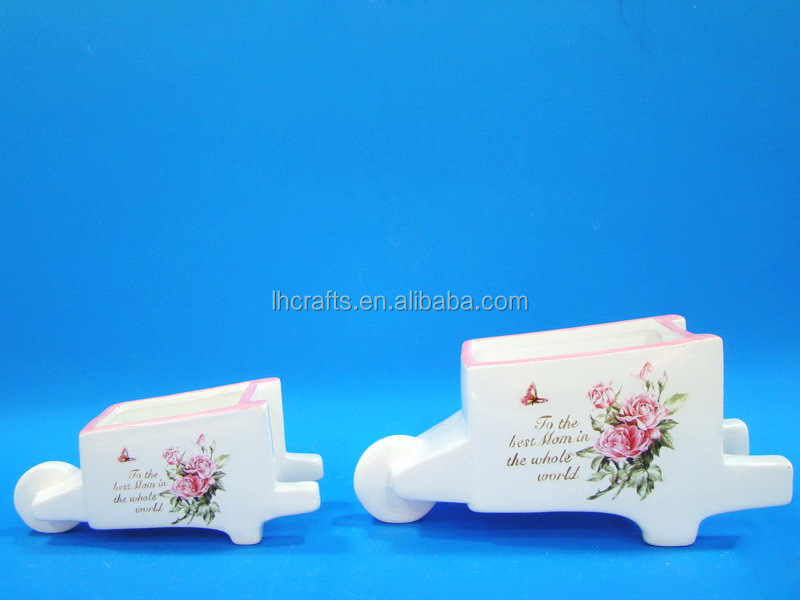 New design fashion handmade white ceramic gift products