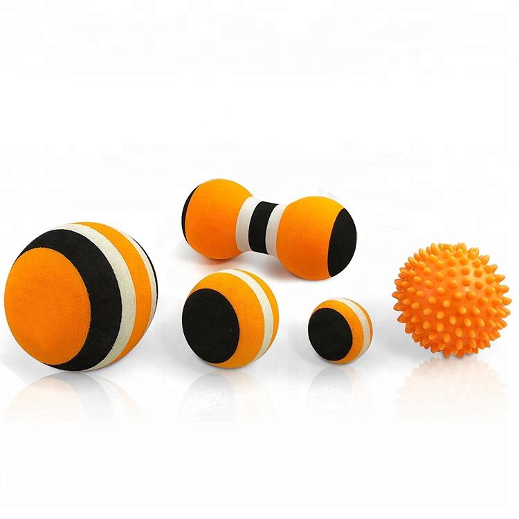 Custom massage ball peanut ball spiky ball Deep Tissue Physical Therapy Muscle Massager set, Customized