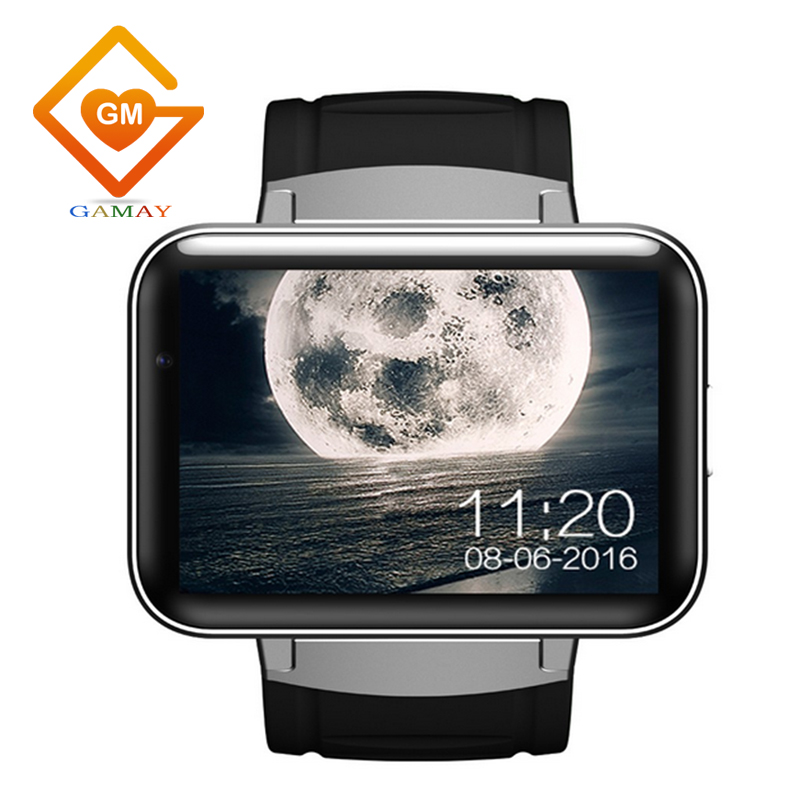 Best Selling Smart Watch Camera Round Band DM98 Mobile Watch Phones Smart