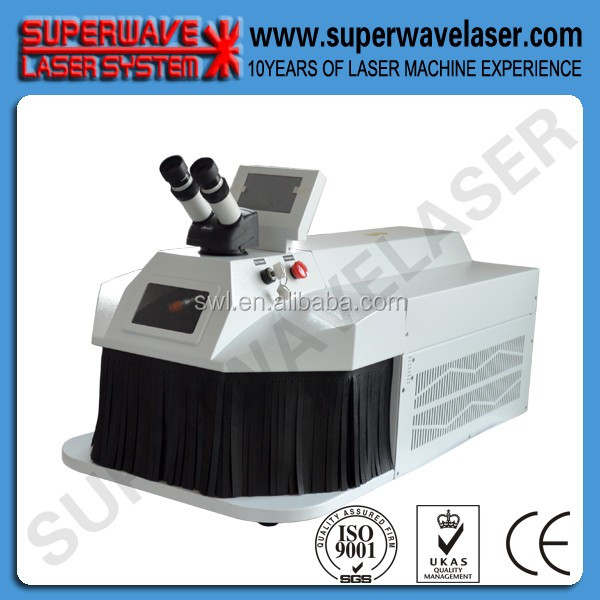 high quality laser spot soldering machine for repair dental Superwave Laser electric welding machine portable