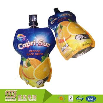 Custom Logo Design Food & Beverage Fruit Juice Package Doy Pack Pouch 150  Ml Foil Stand Up Spout Bag - Buy 150 Ml Foil Stand Up Spout Bag,Foil Stand