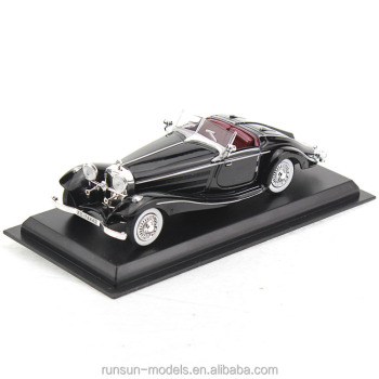 L4024 Die Cast 540K Spezial Roadster Classic Model Cars