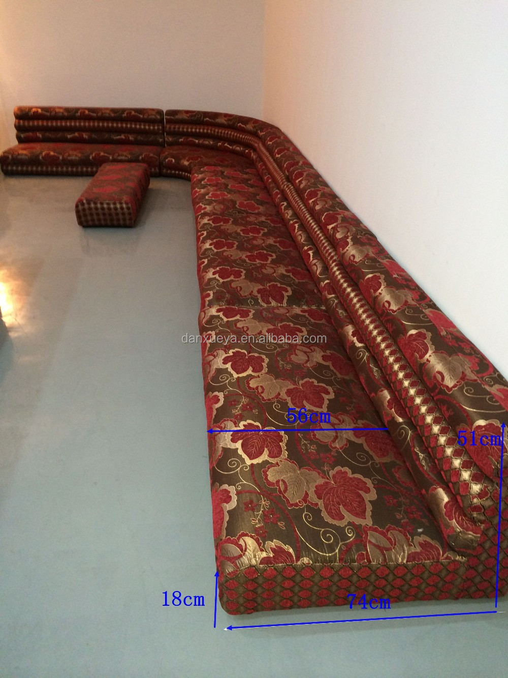 Danxueya Arabic Majlis Set Arab Floor Sofa Arabian High
