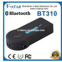 Remote control aux bluetooth car kit