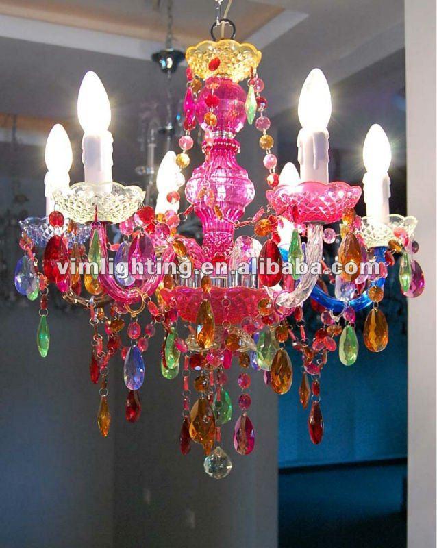 Multi color decorative crystal chandelier 808 6 buy colorful multi color decorative crystal chandelier 808 6 buy colorful chandeliercolorful crystal chandeliermulti color chandelier lighting product on alibaba aloadofball Images