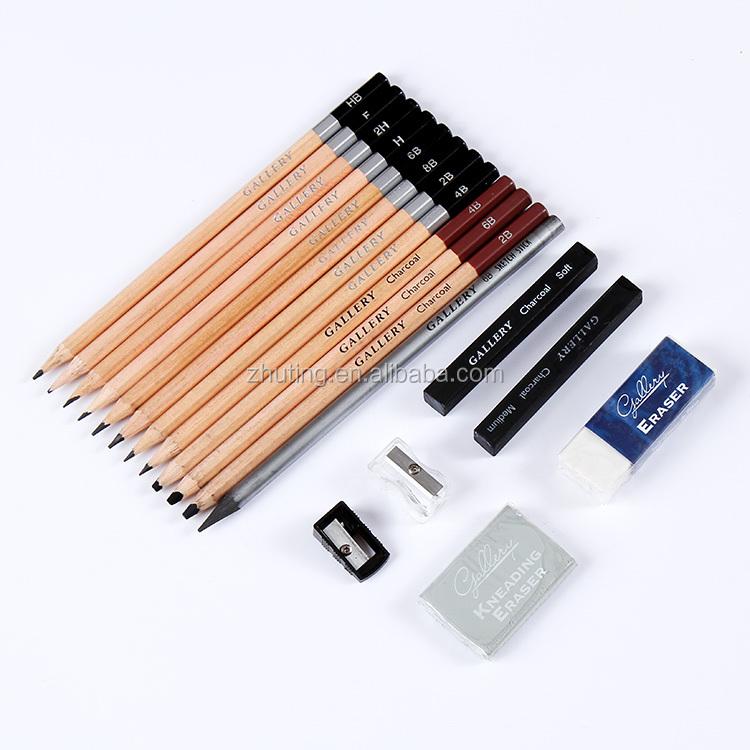 taille crayon fusain