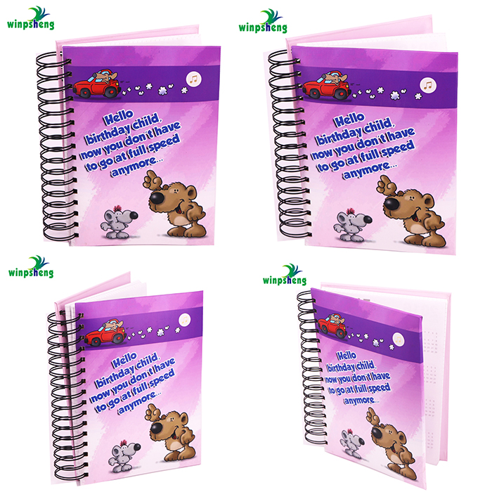 Customized Paper School Supplies Notebook For Students/Friends