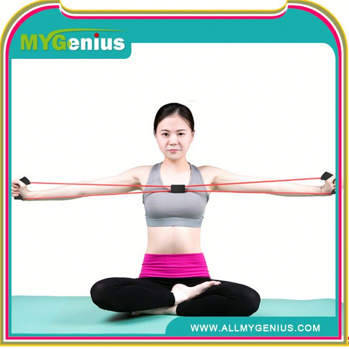 Fitness Resistance Bands ag body shaping elastic rope