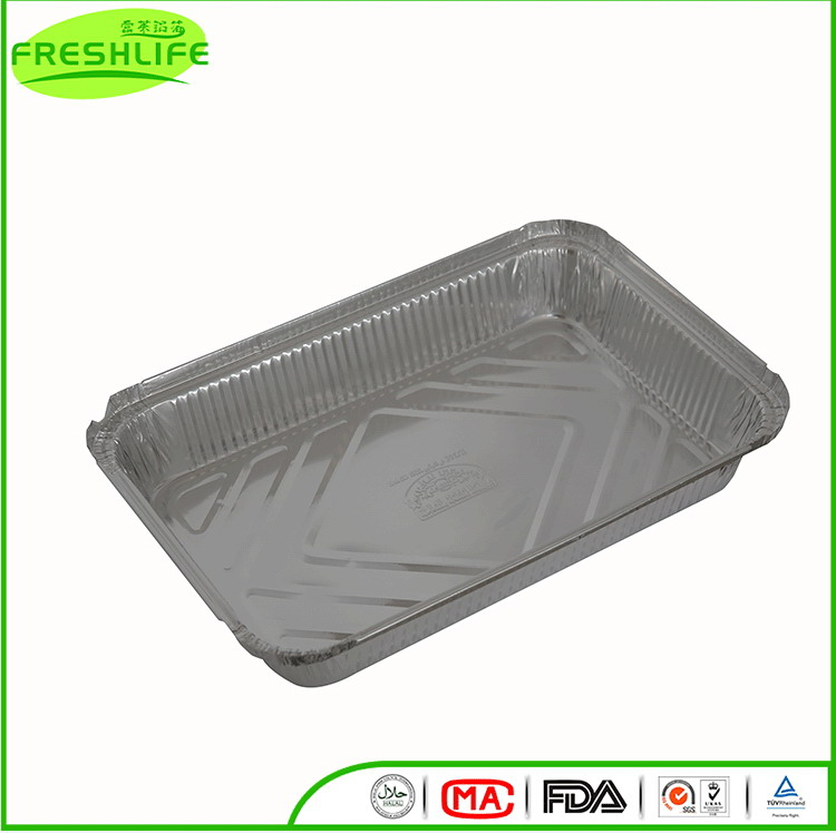 New style aluminum foil container food pack foil containers without smell