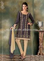 Casual wear ladies fashion salwar kameez Indian ethnic suit(S2033)