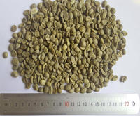 Chinese yunnan green coffee beans,screen 17 up,grade AA,arabica type