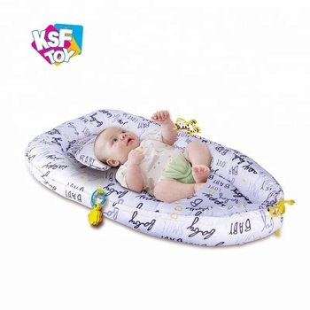 soft portable crib newborn baby nest bed for travel sleeping